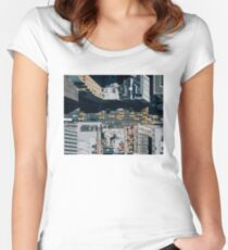 New York Taxi(s) Women's Fitted Scoop T-Shirt