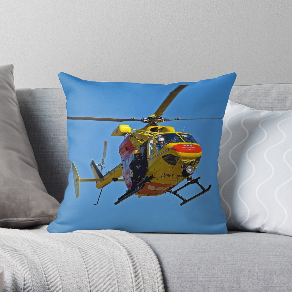 The Chopper Throw Pillow
