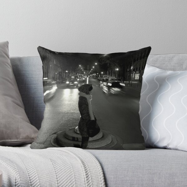 """Wait """"Good things might come for those who wait"""" Throw Pillow"""