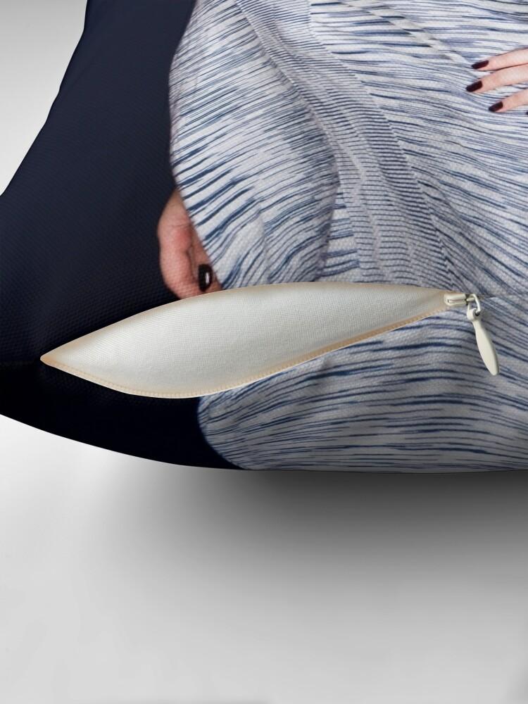 Alternate view of Lisa 1 Throw Pillow