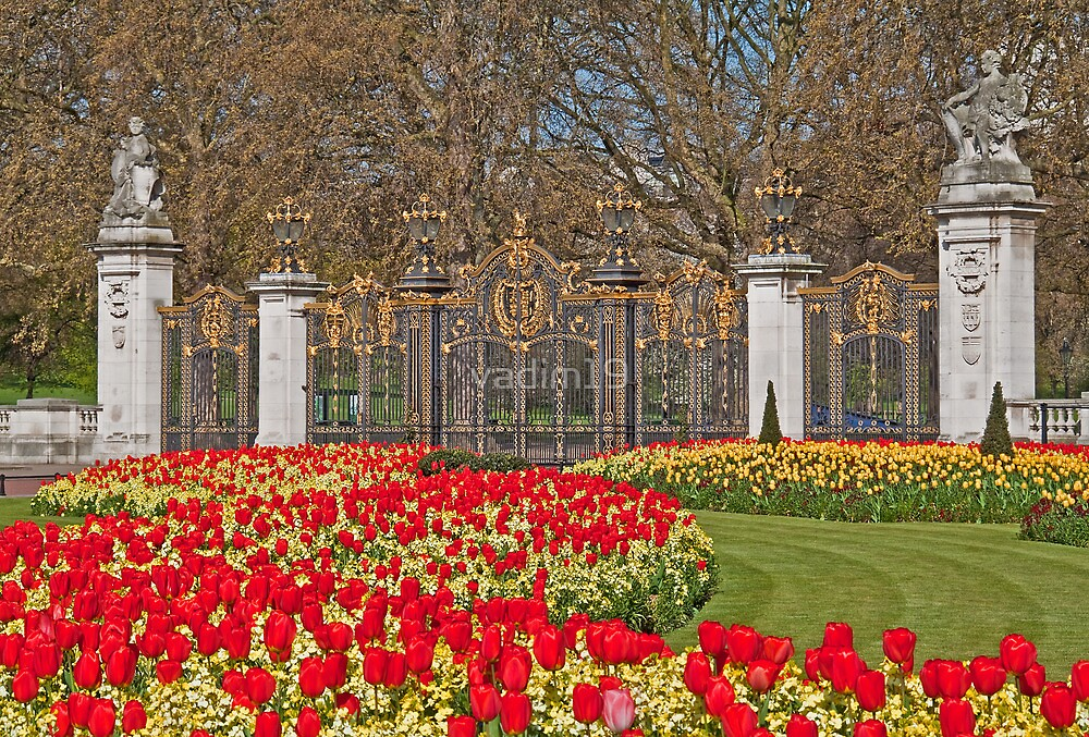 Canada Gate of the Green Park. London. England by vadim19