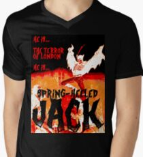 Spring Heeled Men's V-Neck T-Shirt