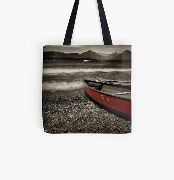 McDonald Lake All Over Print Tote Bag