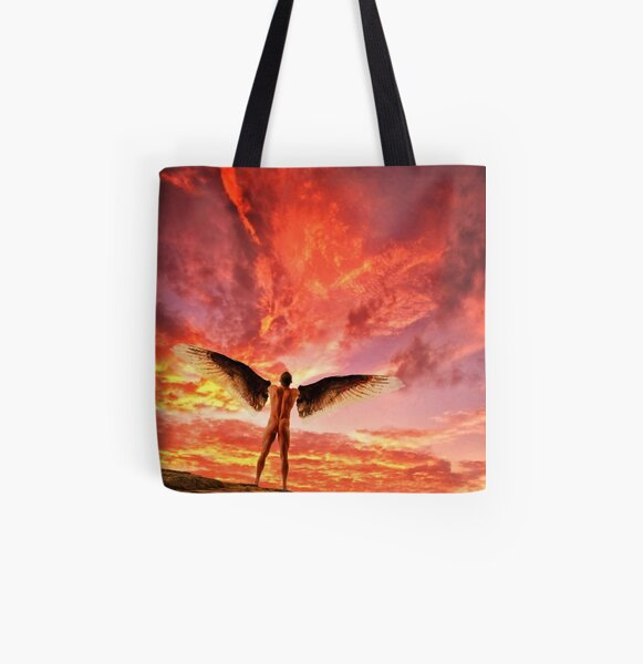 The Point of No Return - Icarus All Over Print Tote Bag