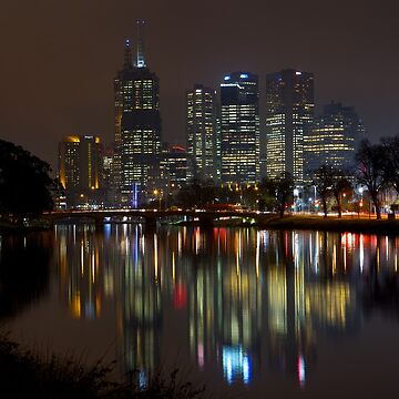 Melbourne By Night by jscott1976