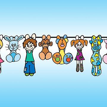 Toys by artisticamylee