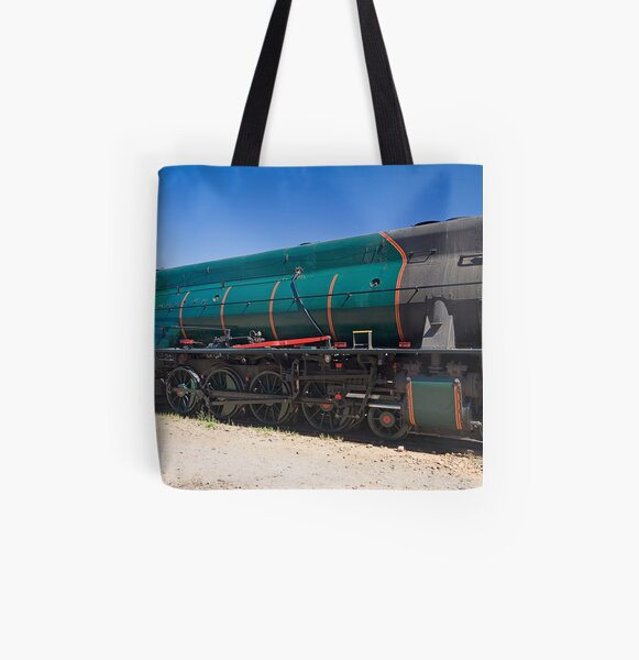 All Aboard All Over Print Tote Bag