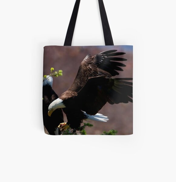 The Hunter Returns All Over Print Tote Bag