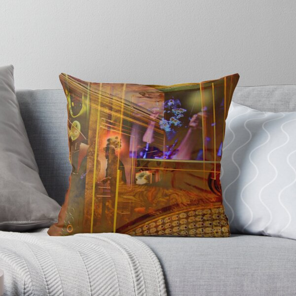 Hotel Wagner Palermo Throw Pillow