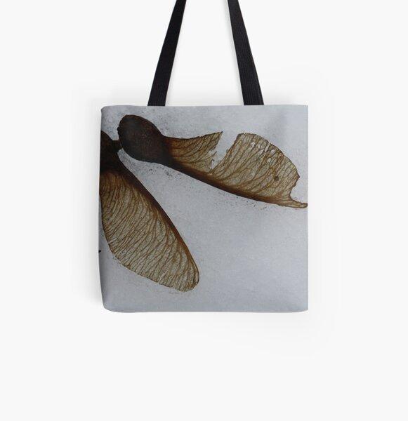 fallen pair All Over Print Tote Bag