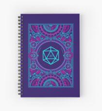 Cuaderno de espiral Mesa RPG D20 dados Cyberpunk