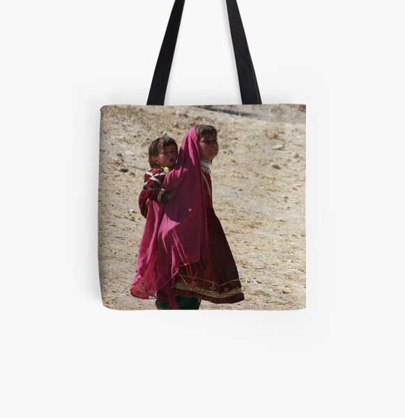Sisters (Afghanistan) All Over Print Tote Bag