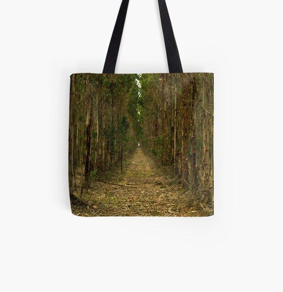 Eucalypt path... All Over Print Tote Bag