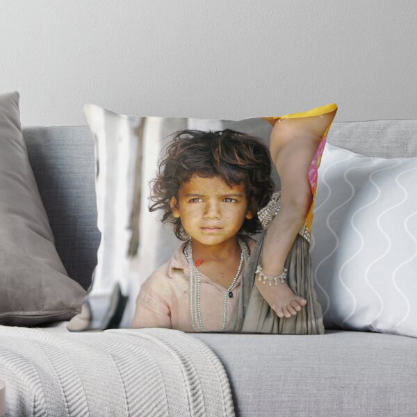 the boy who would be king Throw Pillow
