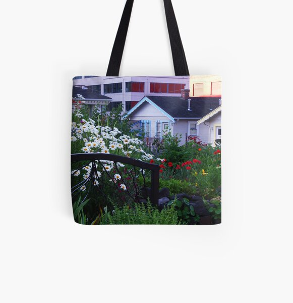 Pea Patch in Belltown All Over Print Tote Bag