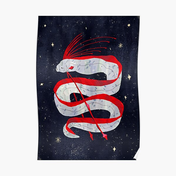 Starry Oarfish Poster