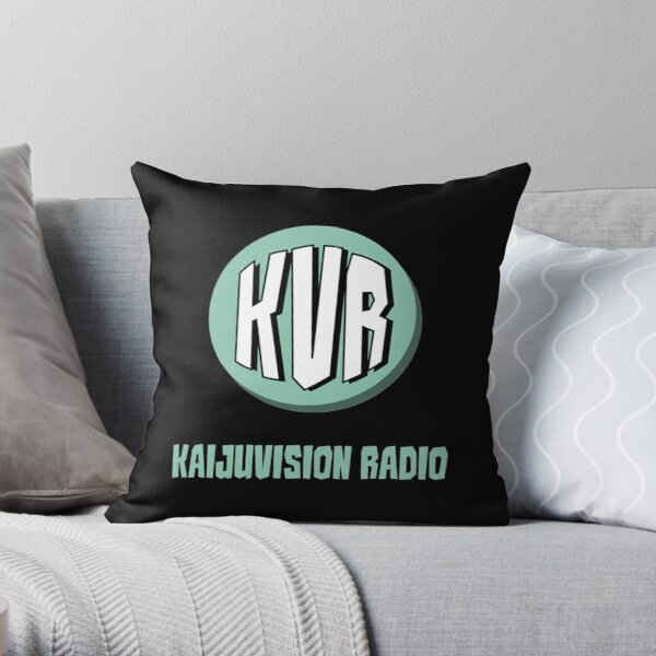 KVR Logo Throw Pillow