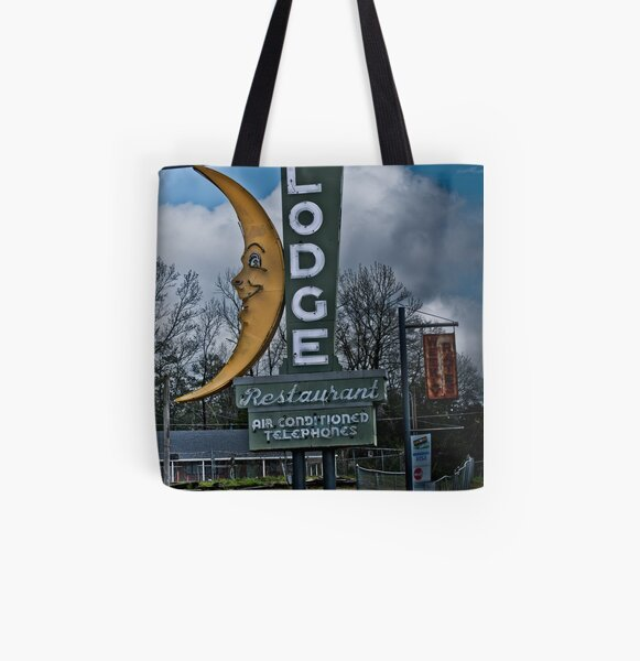 moon winx lodge All Over Print Tote Bag