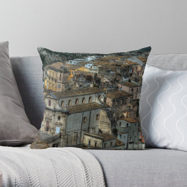 Old Sicily  Throw Pillow