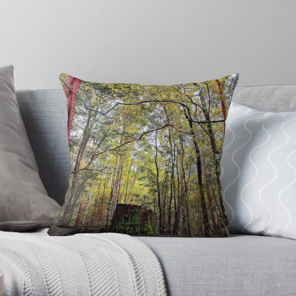 """""""I was a BIG tree once"""" Throw Pillow"""