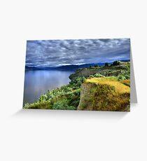 Okanagan Lake on a Thursday Greeting Card