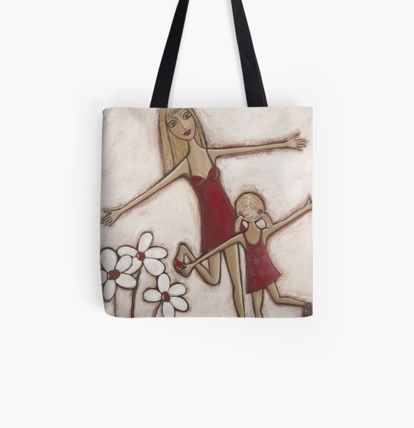"""Summer Holiday"" All Over Print Tote Bag"