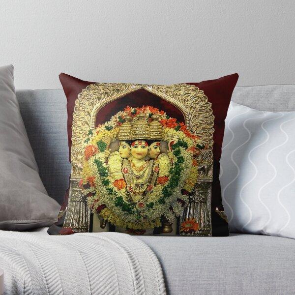 The Deities of India - Lord Dattatreya Throw Pillow