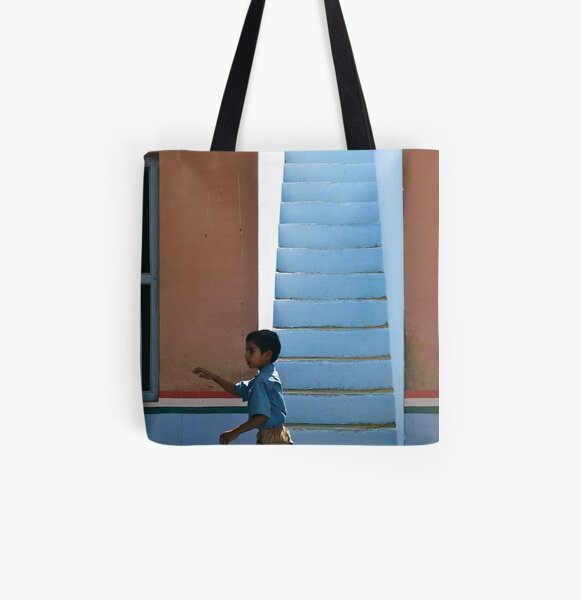 this way up All Over Print Tote Bag