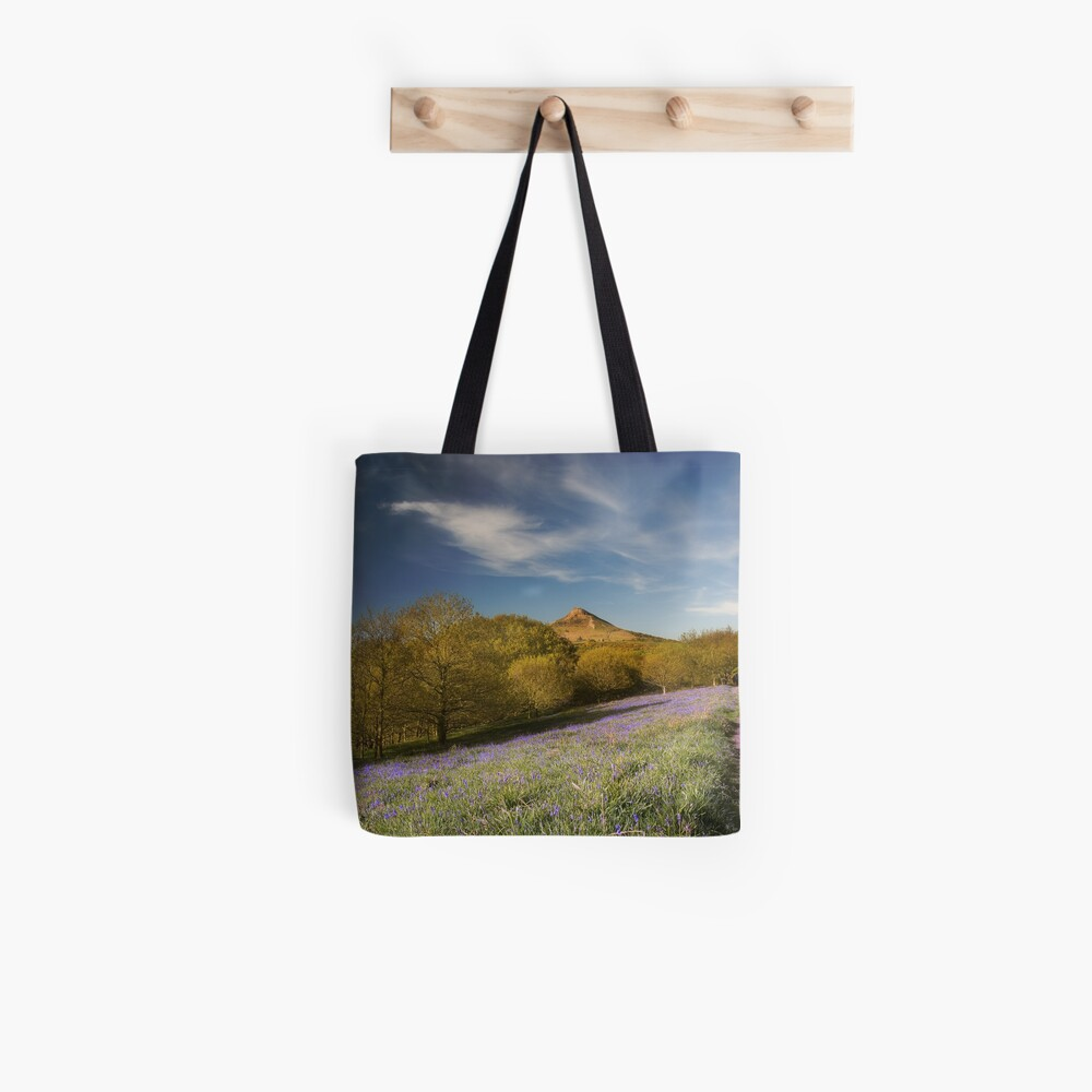 The Bluebells at Roseberry Topping Tote Bag