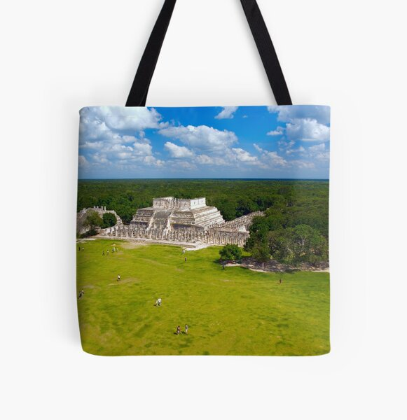 Temple of the 1,000 Warriors All Over Print Tote Bag