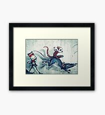 Rat race Framed Print