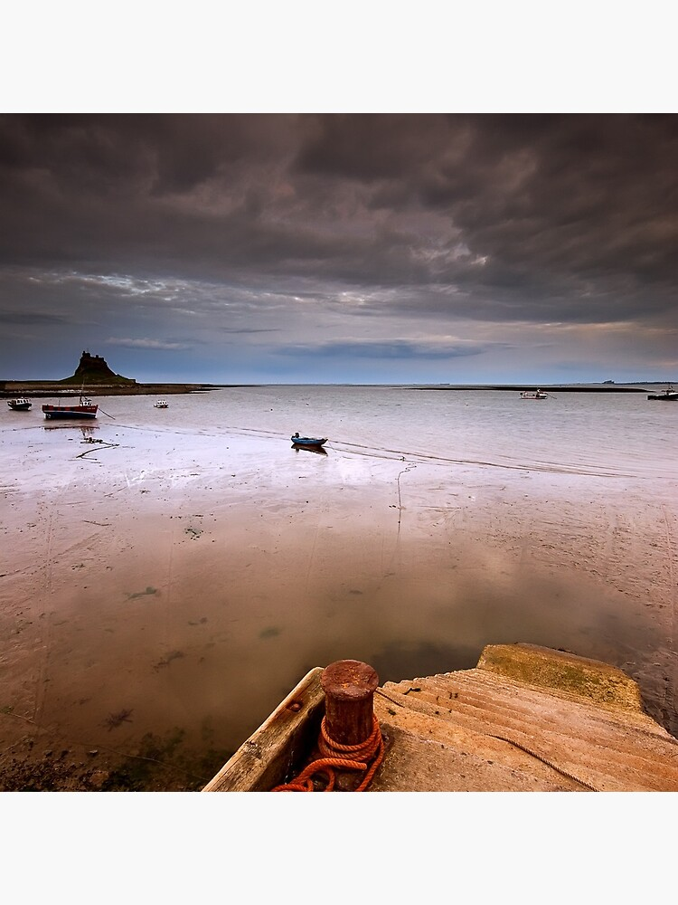 Gloomy Lindisfarne by tontoshorse