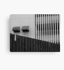 Urban Stripes Canvas Print