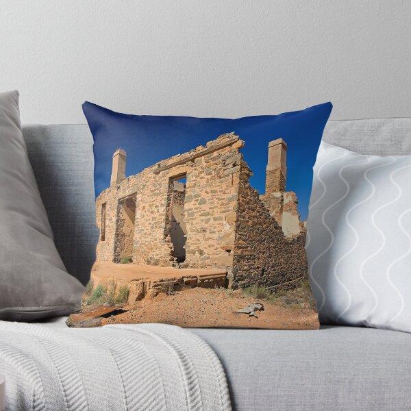 Waukaringa Ruins, SA Throw Pillow