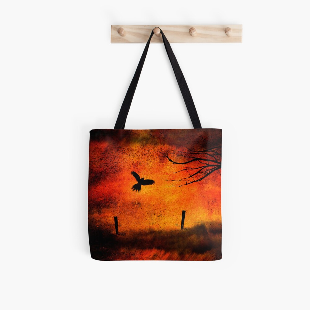 Wings Of Fire Tote Bag