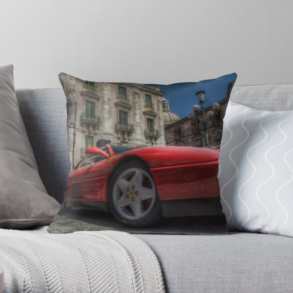 Ferrari Testarossa Throw Pillow