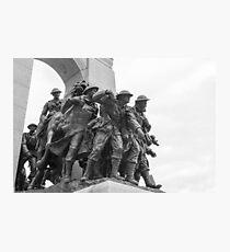 Canada's National War Memorial in Ottawa, Canada Photographic Print