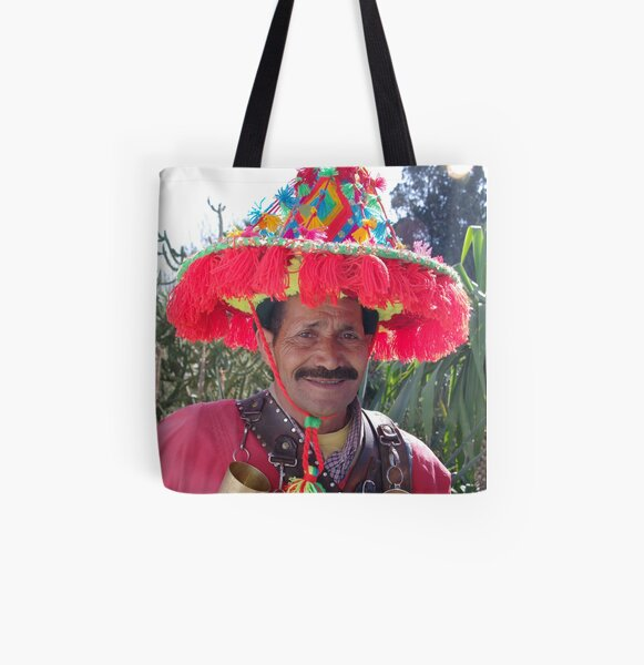Berber Water Seller - Marrakech, Morocco All Over Print Tote Bag
