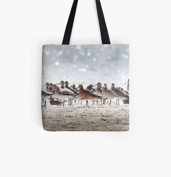 Bar-tailed Godwit All Over Print Tote Bag