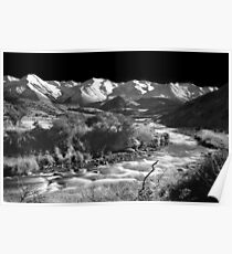 Hogs Back Creek - B&W Poster