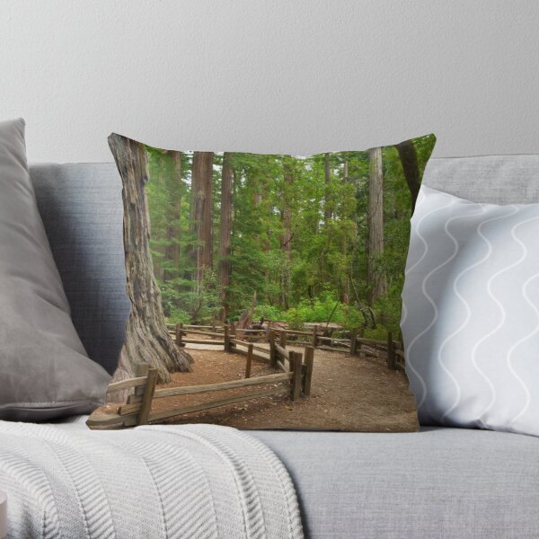 Big Basin Giant Throw Pillow