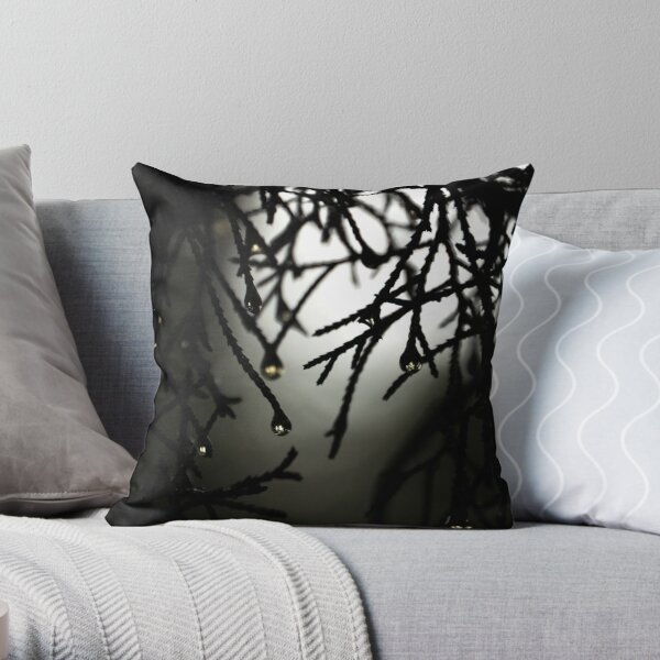 After the Eruption Throw Pillow
