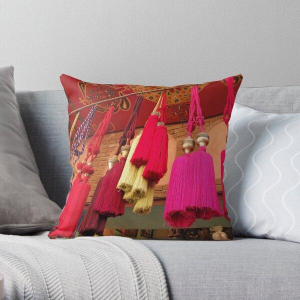 Tassels, Marrakech Throw Pillow