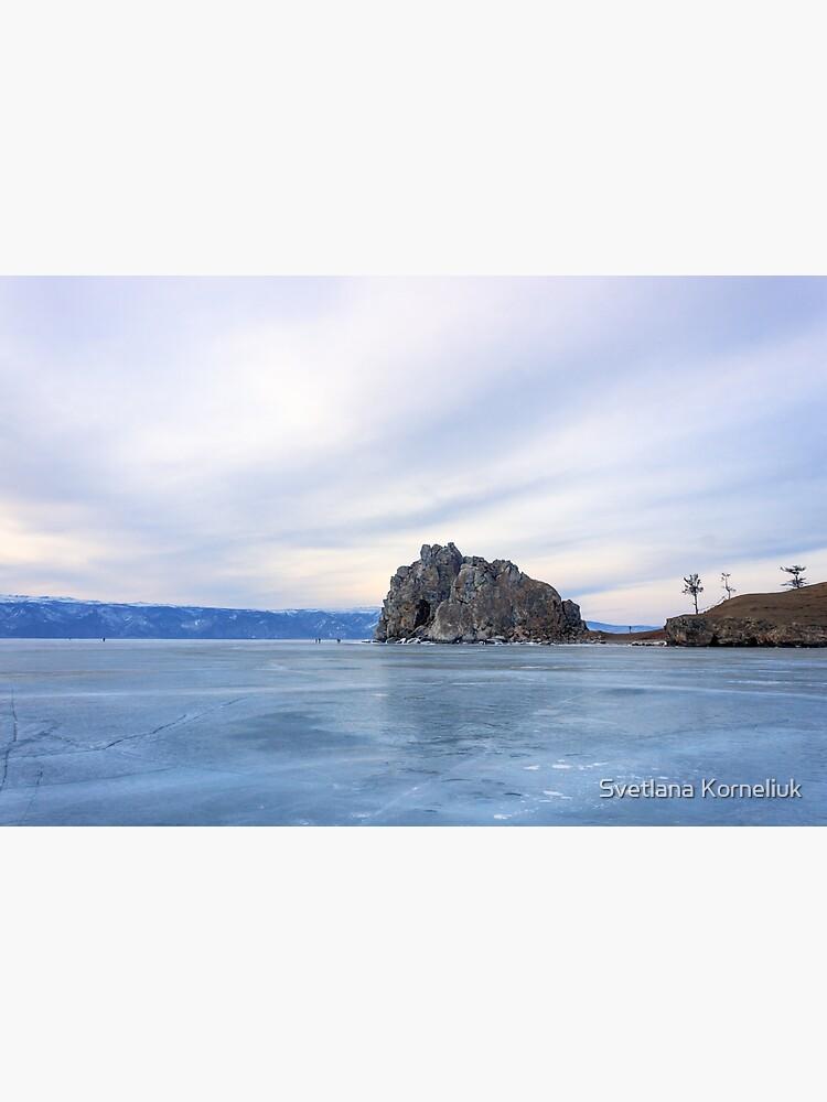 Shaman Rock, lake Baikal by SvetlanaKorneli