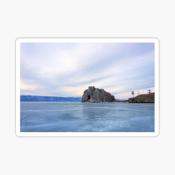 Shaman Rock, lake Baikal Sticker