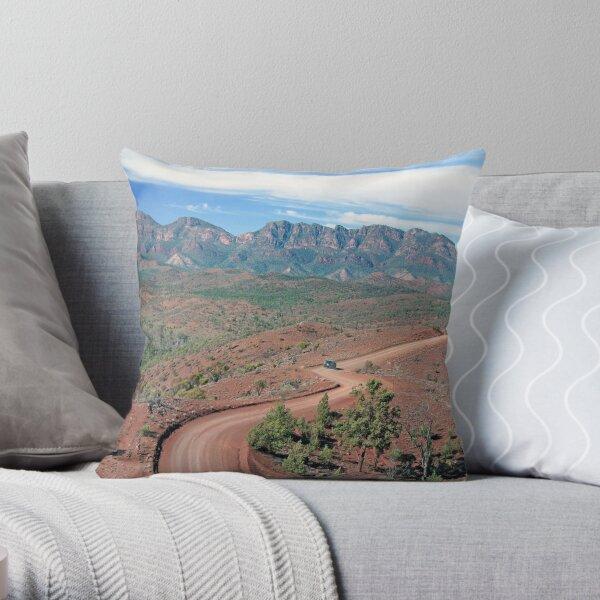Bunyeroo Valley, Flinders Ranges, South Australia Throw Pillow