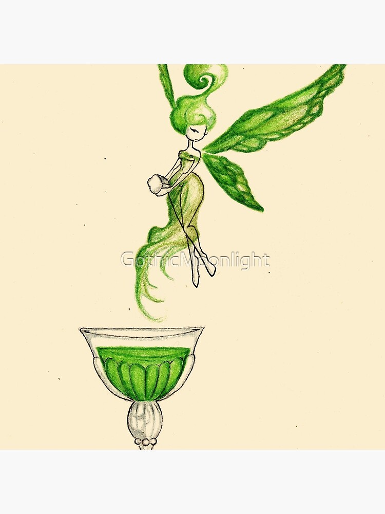 Absinthe Fairy Tote Bag By Gothicmoonlight Redbubble