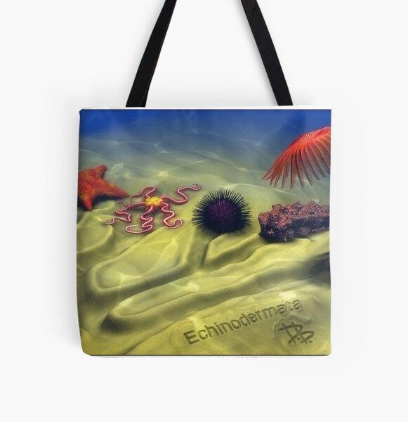 Echinodermata All Over Print Tote Bag