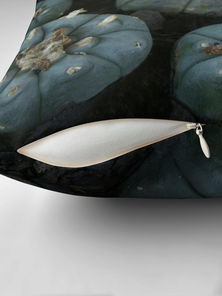 Alternate view of Lophophora williamsii Throw Pillow