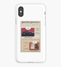 Glengarry Glen Ross Sales Poster iPhone Case/Skin